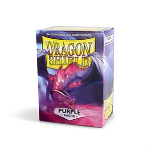 Sleeves: Dragon Shield Matte Purple (100)