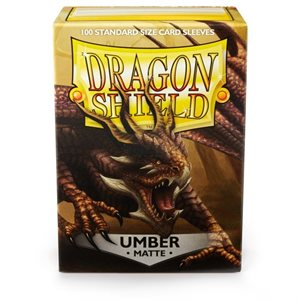 Sleeves: Dragon Shield Matte Umber (100)