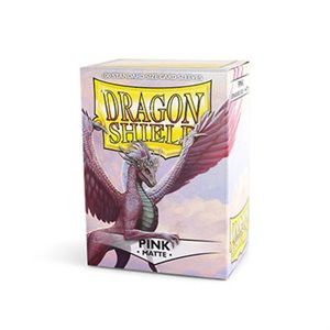 Sleeves: Dragon Shield Matte Pink (100)