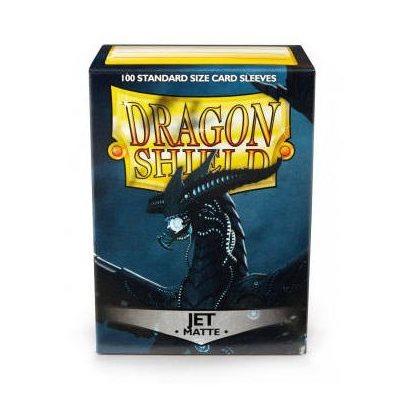 Sleeves: Dragon Shield Matte Jet (100)