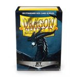 Sleeves: Dragon Shield Matte Jet (100)