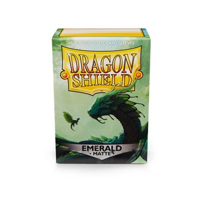 Sleeves: Dragon Shield Matte Emerald (100)