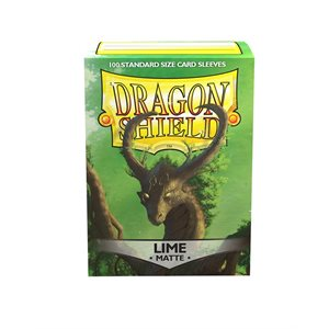 Sleeves: Dragon Shield Matte Lime (100) ^ AUG 7, 2020
