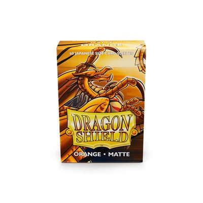 Sleeves: Dragon Shield Matte Japanese Orange (60)
