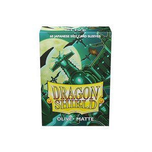 Sleeves: Dragon Shield Matte Japanese Olive (60) ^ AUG 7, 2020
