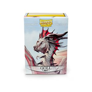 Sleeves: Dragon Shield Limited Edition Art: Qoll(100)