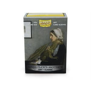 Sleeves: Dragon Shield Limited Edition Art: Whistlers Mother(100)