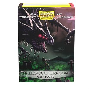 Sleeves: Dragon Shield Limited Edition Matte Art: Halloween 2020 (100) ^ OCT 2 2020