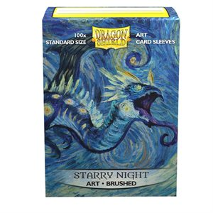 Sleeves: Dragon Shield Limited Edition Brushed Art: Starry Night (100)