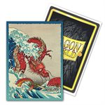 Sleeves: Dragon Shield Limited Edition Brushed Art: The Great Wave (100) ^ NOV 5 2021