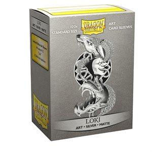 Sleeves: Dragon Shield Matte Art: Vikings Loki (100) ^ JAN 29 2021