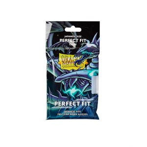 Sleeves: Dragon Shield Perfect Fit Toploaders Japanese Clear (100)