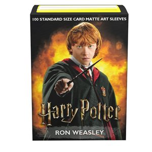 Sleeves: Dragon Shield Limited Edition Matte Art: Harry Potter: Ron Weasley(100)^ SEP 18 2020