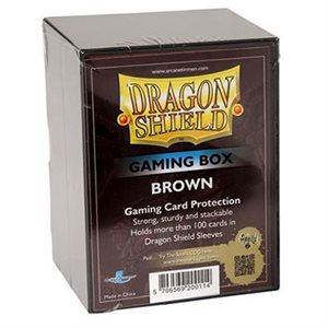 Dragon Shield Gaming Box Brown