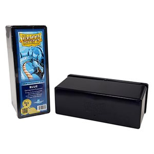 Dragon Shield Storage Box: 4 Compartments Blue