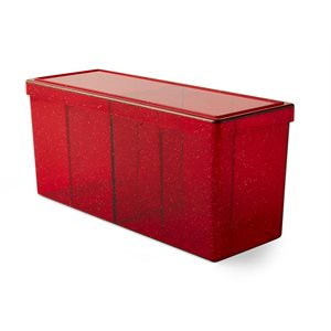 Dragon Shield Storage Box: 4 Compartment Ruby