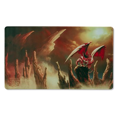 Dragon Shield Playmat Limited Edition Rubis Incoming - Ruby