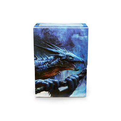Deck Box: Dragon Shield Deck Shell: Limited Edition Sapphire Royenna