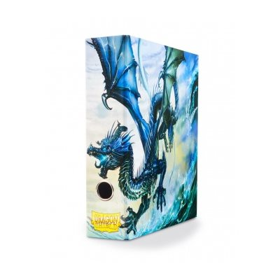 Slipcase Binder: Dragon Shield 9 Pocket Dragon Art Blue
