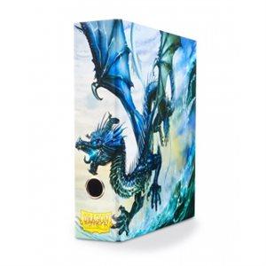 Slipcase Binder: Dragon Shield 9 Pocket Dragon Art Blue