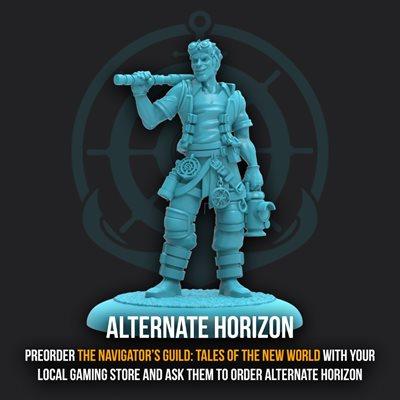 Guild Ball: Navigators Guild - Promo Figure - Limited Edition Horizon
