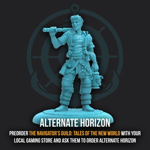 Guild Ball: Navigators Guild - Promo Figure - Limited Edition Horizon