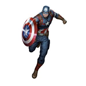 Captain America Interactive Wall Decal