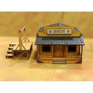Prepainted Sheriff Office