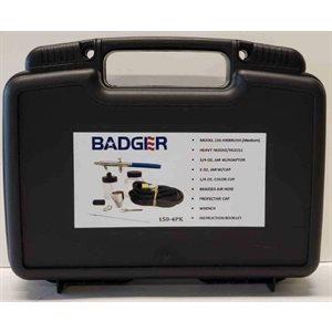Badger: Airbrush Kit 3: Legend Series: 150 Bottom Feed Medium Nozzle