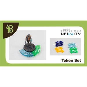 Infinity Fire Teams Tokens Set
