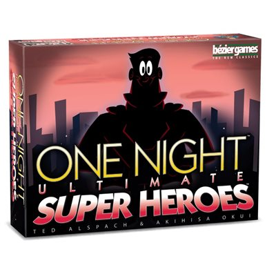 One Night Ultimate Super Heroes (No Amazon Sales)