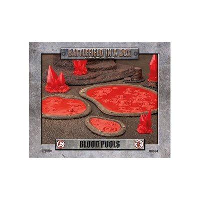 Battlefield in a Box: Blood Pools 3 pc (30mm)