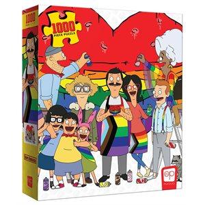 """Puzzle: 1000 Bob's Burgers """"Pride"""" (No Amazon Sales) ^ Q3 2021"""