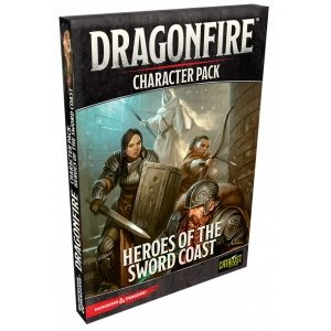 Dungeons & Dragons DragonFire Heroes of the Sword Coast (Character Pack 1)