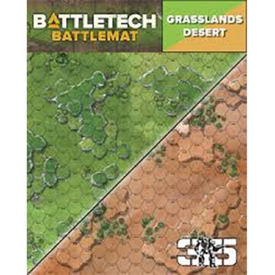 Battle Tech Battle Mats: Desert
