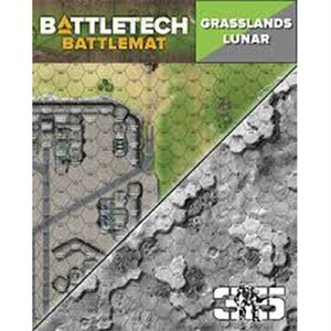 Battle Tech Battle Mats: Lunar