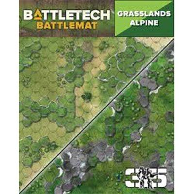 Battle Tech Battle Mats: Alpine (No Amazon Sales)