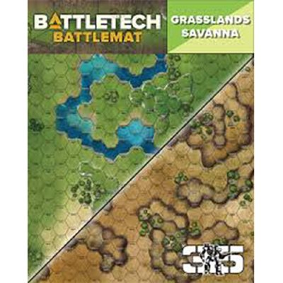 Battle Tech Battle Mats: Savanna