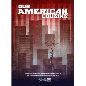 Call of Cthulhu: World War Cthulhu: Our American Cousins (BOOK)