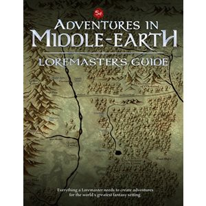 D&D: Adventures in Middle-Earth Loremaster's Guide (BOOK)