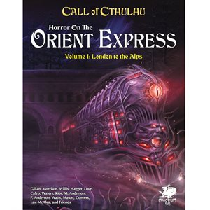 Call of Cthulhu: Horror on the Orient Express (2pc) (BOOK) ^ JUN 2021
