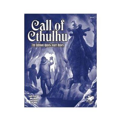 Call of Cthulhu: Call Of Cthulhu 7th Quickstart (BOOK)