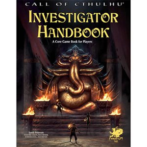 Call of Cthulhu: 7th Ed Investigators Handbook (BOOK)