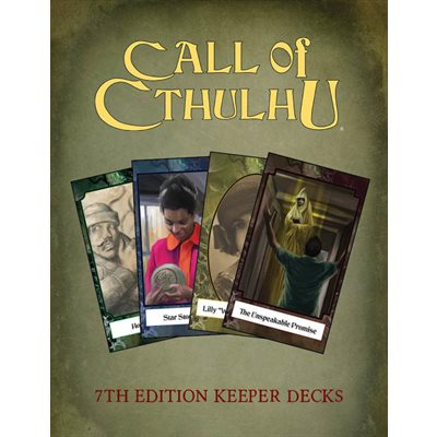 Call of Cthulhu: 7th Ed Keeper Decks