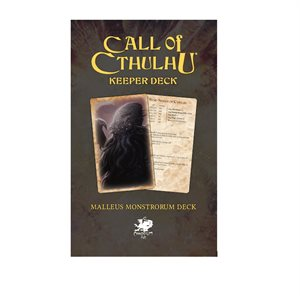 Call of Cthulhu: Keeper Deck: Malleus Monstrorum ^ JAN 2021