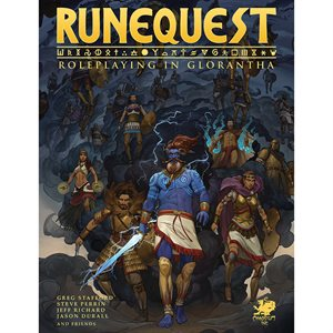 RuneQuest: Roleplaying in Glorantha HC (BOOK)