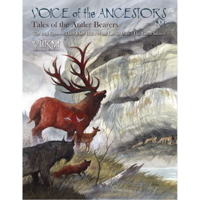 Wurm: Voice of Ancestors the Vol 1, Tales of the Antler Bearers (BOOK)