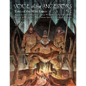Wurm: Voice of the Ancestors Vol 2, Tales of the Man Eaters (BOOK)