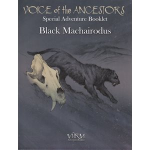 Wurm: Voice of the Ancestors Special Black Machairodus (BOOK)