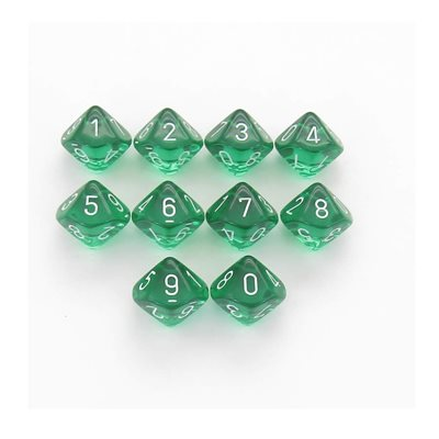 Translucent: 10D10 Green / White